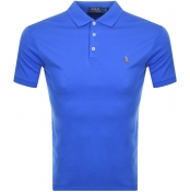 Ralph Lauren Slim Fit Polo T Shirt Blue